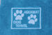 Teal Professional Dog Towel